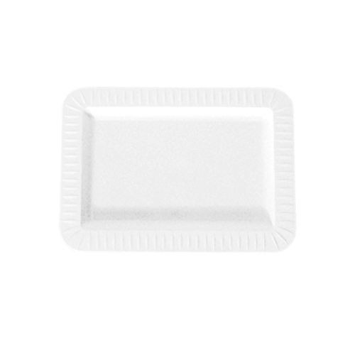 Party Essentials N270151 Elegance Hard Plastic Appetizer Plates, 5