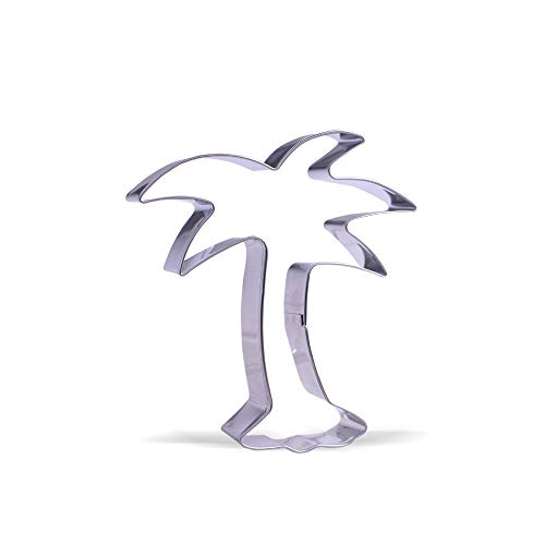 (4.7 inch Palm Tree Cookie Cutter - Stainless Steel)
