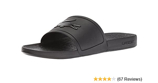 a30b6e4f348d Amazon.com  Lacoste Men s Fraisier Slide Sandal  Shoes