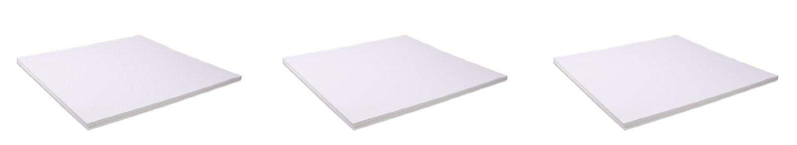 Bazzill Basics 12 by 12-Inch 25-Sheet Cardstock, White (Тhree Pаck)
