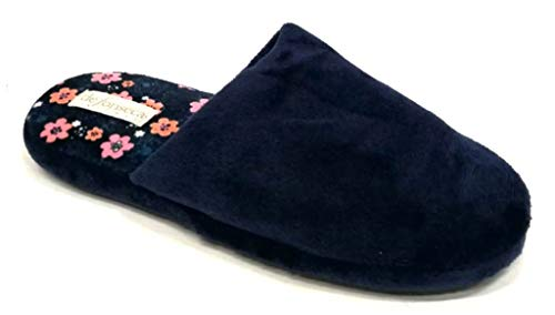 Fonseca Ciabatte Donna De Mod Invernali Roma Pantofole Top W444 Blu qRHHnFxS