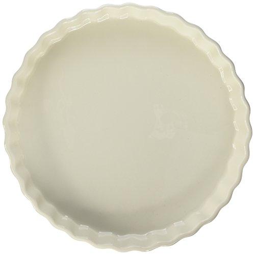 Maxwell and Williams Basics Quiche Dish, 11-Inch, White