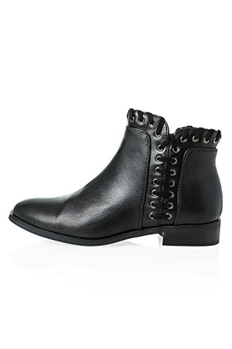 Black Boots Stiefel Only Damen Stiefelette qwZ66p