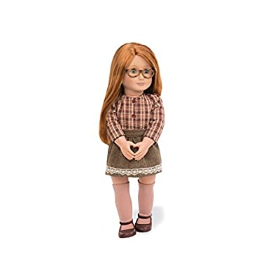 Our Generation Doll By Battat- April 18 inch Regular Non-posable Fashion doll- for ages 3 and up: Toys & Games