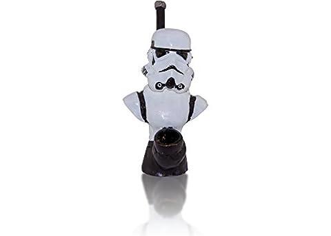Handmade Tobacco Pipe,Star Wars (star wars stormtrooper) - 2 Oz Pipe Tobacco