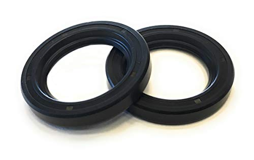 (REPLACEMENTKITS.COM Brand fits Yamaha Prop Shaft Oil Seals (2 pc Set) Replaces 93101-30M17-00)