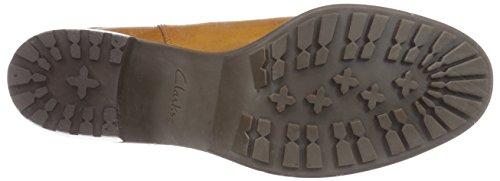 Clarks Maroda Faith - botas de cuero mujer Marrón (Dark Tan Lea)