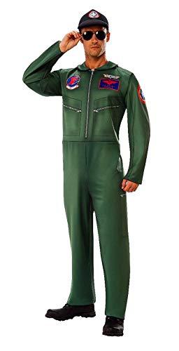 821156 XL Top Gun Suit Aviator Costume with Hat Goose Maverick