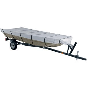 "Dallas Manufacturing Co. 300D Jon Boat Cover - Model B - Fits 14' w/Beam Width to 70"" (45154)"