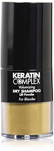 Keratin Complex Volumizing Dry Shampoo Lift Powder - Blonde by Keratin for Unisex - 0.31 oz Powder. (Best Volumizing Dry Shampoo)