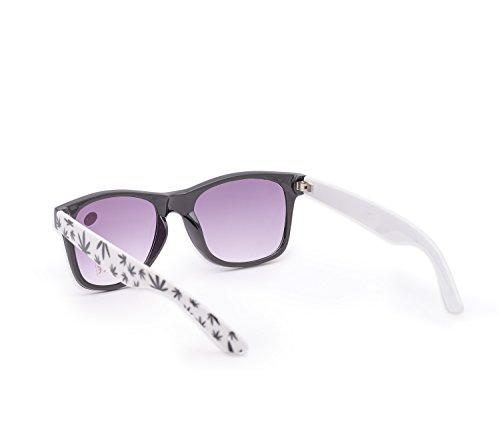 UV400 lectores 4sold 1 nbsp;fuerza sol carey sol Mujer 5 UV gafas lectura de de marca Leaves nbsp;marrón Unisex hombre para gafas de Reader Estilo 4sold dgqwzTP4d