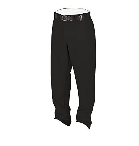 Rawlings Youth Relaxed Fit YBP31MR Baseball Pant, Black, Youth XX-Large - Relaxed Fit Baseball Pants