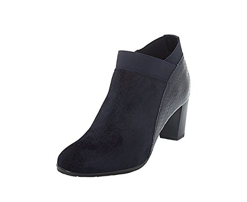 12 Blue 43442 ara Ankle Boots BLAU 78 Ladies zxPt4Zqnv