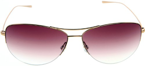 ce0ceef95b Amazon.com  Oliver Peoples 1004 50378H Rose Gold Strummer Aviator Sunglasses   Clothing