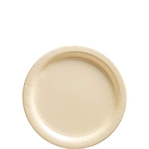 Big Party Pack  Vanilla Crème Paper Plates   7