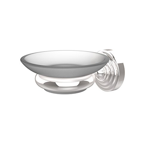 Allied Brass WP-62-PC Waverly Place Collection Wall Mounted Soap Dish Polished Chrome