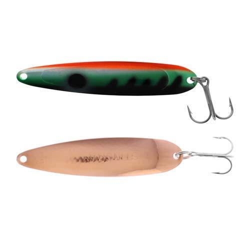 Michigan Stinger Spoon Standard UV Perch Copper 3-3/4