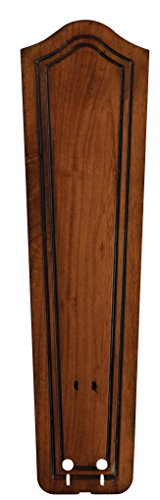 - Fanimation B5131RC Carved Bulge Frame Wood Blade, 22-Inch, Rich Cognac, Set of 5