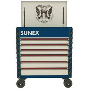 Sunex Tools (SUN8057XTUSA1) Premium Full Service Cart - USA