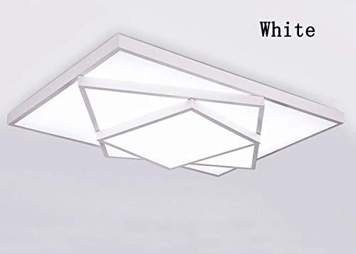 FidgetGear Modern LED Square Stack Ceiling Light Square Pendant Lamp Lighting AC 85-260V 40cm40cm10cm 20W White Dimming with Remote Controller by FidgetGear