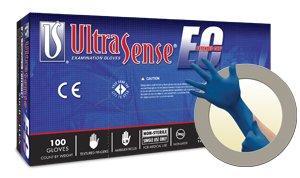 Microflex Ultrasense EC Powder-Free Medical Grade Nitrile Exam Gloves, SMALL (1000 Gloves)