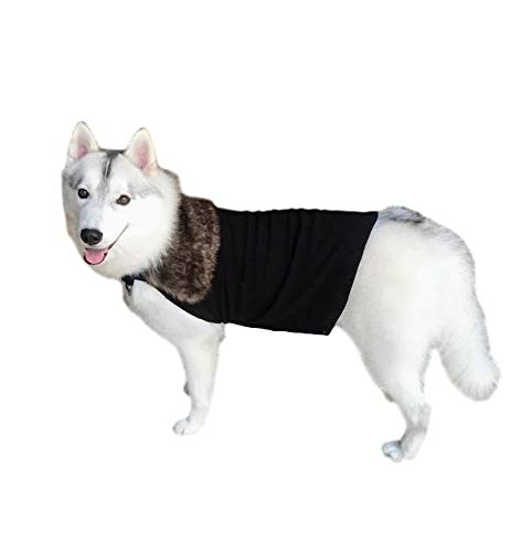 Game Of Thrones Halloween Costumes 2019 (ComfyCamper Jon Snow Dog Costume Fur Cloak)