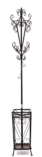 #1 Bellaa Home Furnishing Coat Rack with Umbrella Holder, Cap Holders, Key Holders All in One. for sale