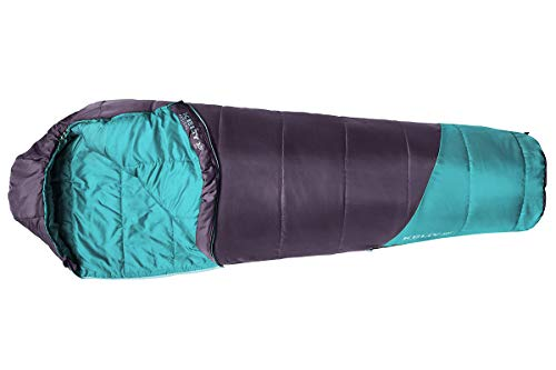 Kelty Kids Mistral 30 Degree CloudLoft Synthetic Insulated Sleeping Bag, Offset Quilt Construction, Large Footbox & More for Boys and Girls
