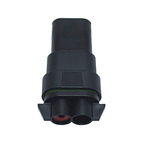FEELDO Car Motorcycle HB4//9006 Bulb Waterproof Quick Adapter Connector Terminals DIY Plug Male//Female Kit