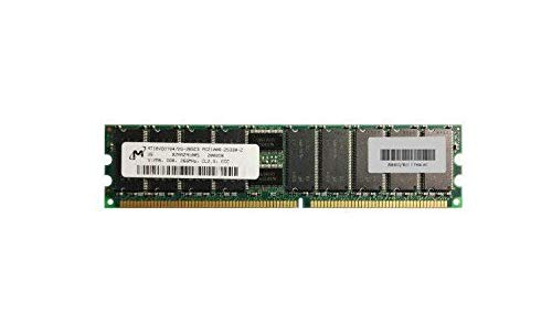 (512MB Micron 512MB PC1600 DDR-200MHz ECC Registered CL2 184-Pin DIMM Memory Module Mfr P/N MT18VDDT6472G-202C3)