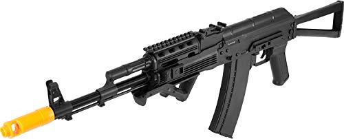 Evike APS Full Metal AK74 Tactical RIS Electric Blowback Airsoft AEG Rifle w/Folding ()