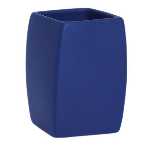 Spirella - Portaspazzolino Twist, colore blu 10.15404