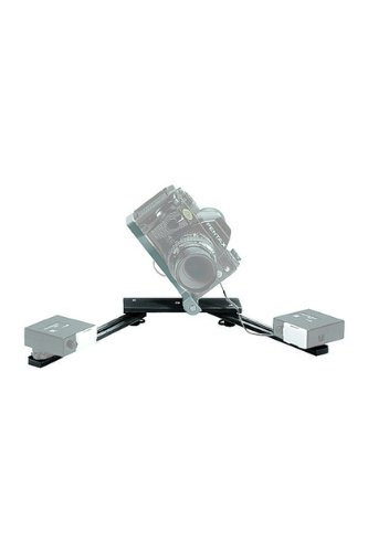 Manfrotto 330B Macro Bracket Flash Support for 2 Shoe Mount Flash Heads