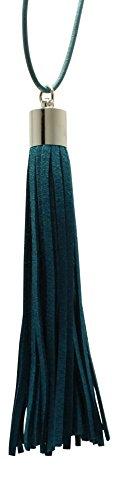 Premium Blue Essential Leather Tassel