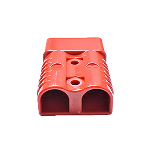 175A 600V Bipolar Power Cable Connector Battery Plug Cable Connector with Plastic Shells Red 1PC: