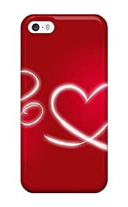 Premium Durable Love Letters Fashion Tpu Iphone 5/5s Protective Case Cover