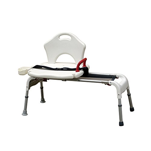 Drive Medical Folding Universal Sliding Transfer Bench by Drive Medical
