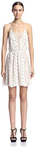 A.B.S. by Allen Schwartz Women's Sundress, Ivory L