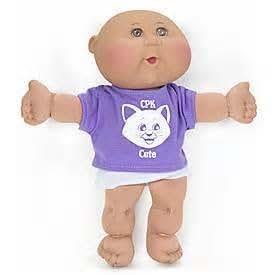 Amazon.com: Cabbage Patch Kids Newborns - Girl With Purple