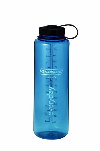 Nalgene 48-Ounce Silo Tritan Wide Mouth Water Bottle (Blue)