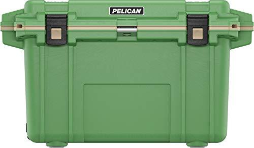 Pelican Elite 70 Quart Cooler (Tan/Orange)
