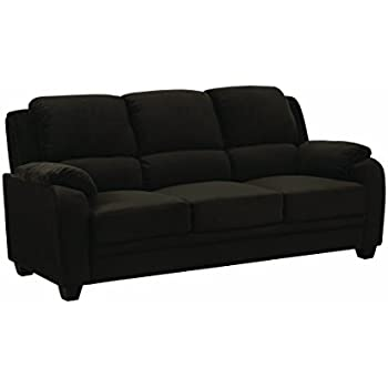 Amazon.com: Coaster 506244-CO Fabric Sofa, Charcoal Finish ...
