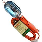 Metal Guard Work Light 10 Ft by Prime Wire & Cable