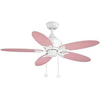 Amazon ceiling fan designers ceiling fan disney princesses vaxcel fn44322w alice ceiling fan 44 white finish aloadofball Image collections