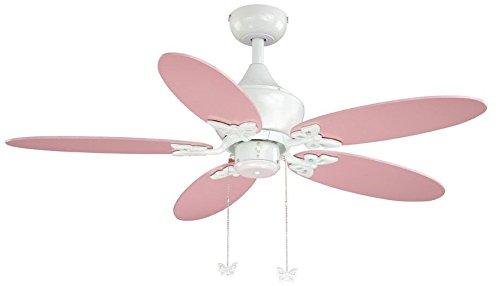 ceiling fan pink - 4