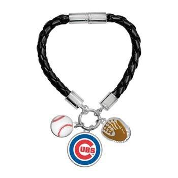 - Game Time Offical MLB CHICAGO CUBS Charm Bracelet