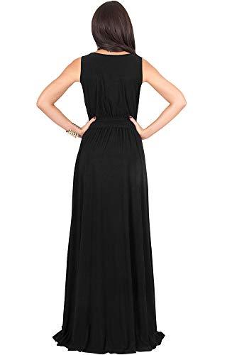 KOH-KOH-Womens-Long-Sleeveless-Flowy-Bridesmaid-Cocktail-Evening-Gown-Maxi-Dress