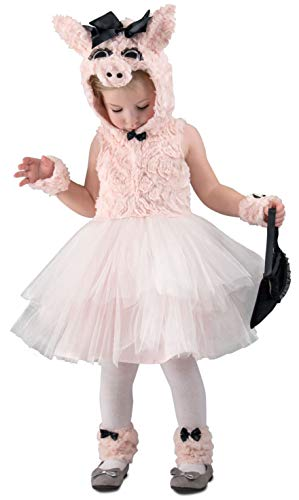 Princess Paradise Piggy Went to Market Costume, Extra Small ()
