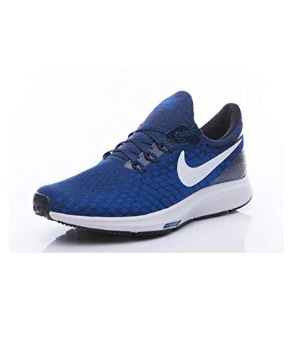 Nike Women's Air Zoom Pegasus 35 Running Shoes (9.5, Game RoyalWhite Deep Royal Blue Black)