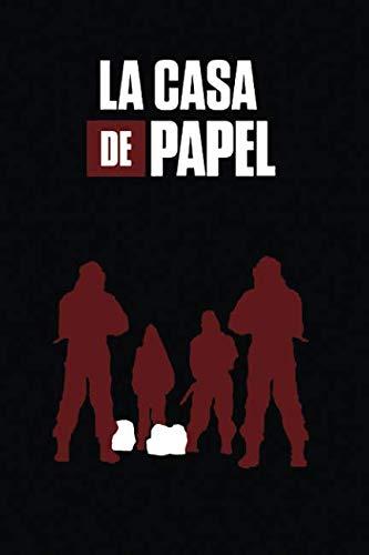 (La Casa De Papel: notebook, 100 lined pages, 6x9'')